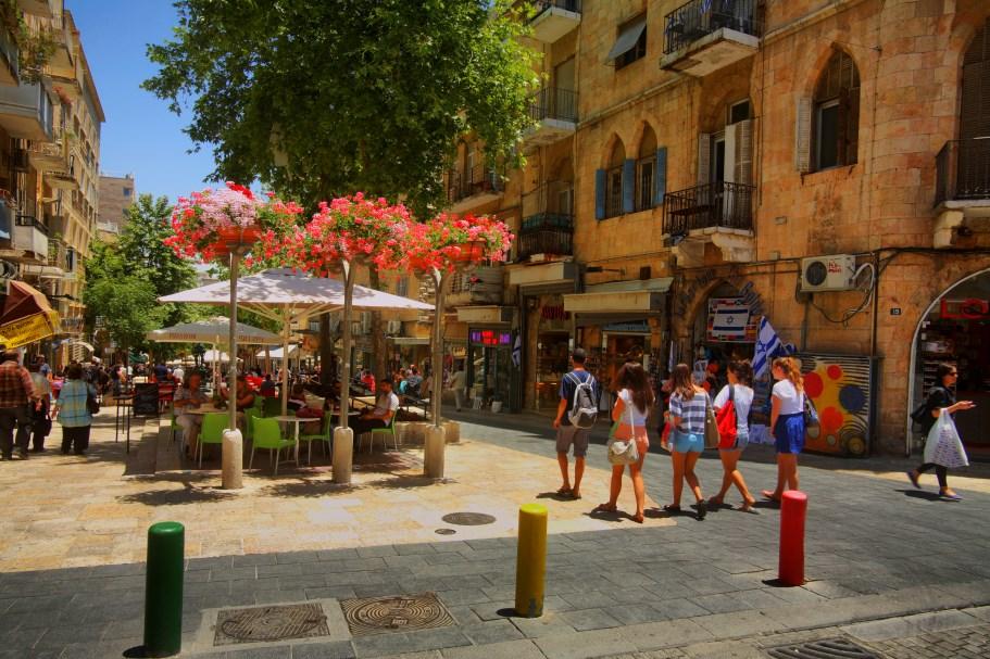 Ben Yehuda Pedestrian Mall