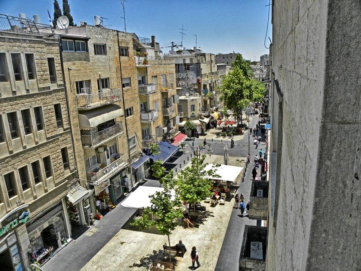 Ben Yehuda Pedestrian Mall Jerusalem