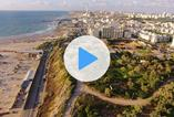 Above Hilton Beach Tel Aviv - Cool Video